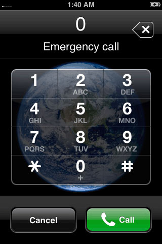 Emergency Call Feature to Activate iPhone without SIM
