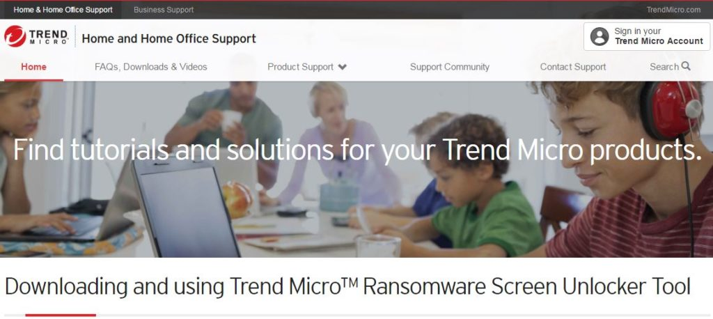 Trend Micro Anti Ransomware Tool