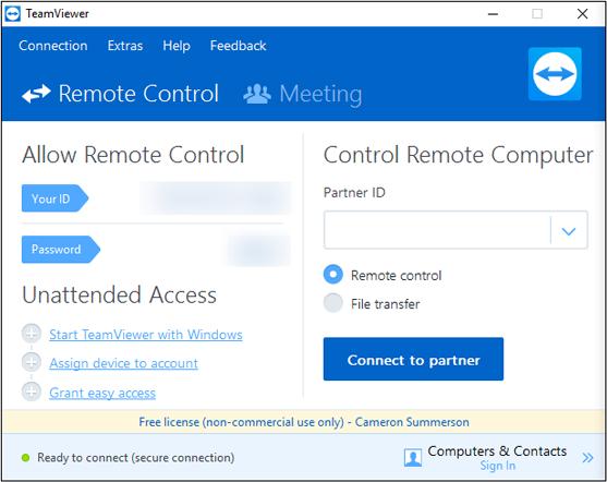 Teamviewer Access