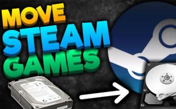 Move Steam Games