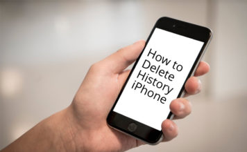 Delete Browsing History On iPhone