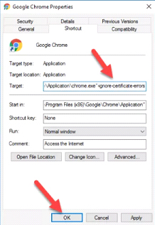 Your Connection Is Not Private' Error in google chrome