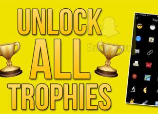 snapchat trophies