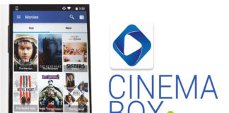 cast cinema box on google chromecast