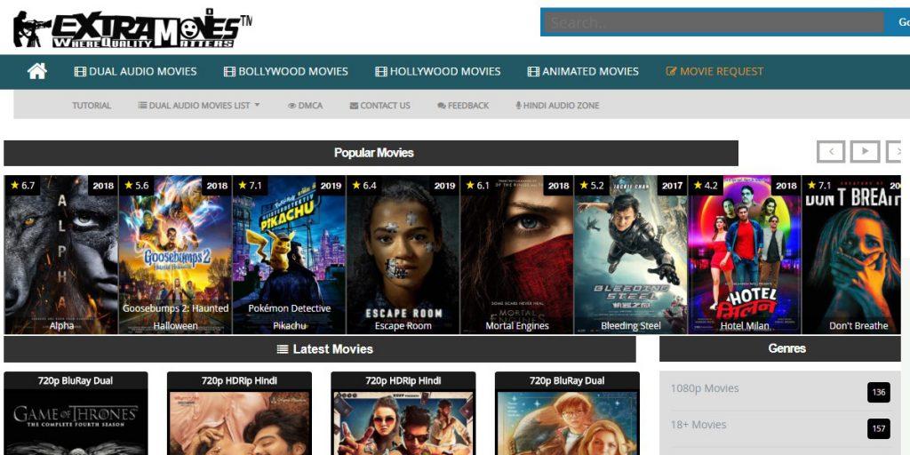 Extramovies site like pubfilm