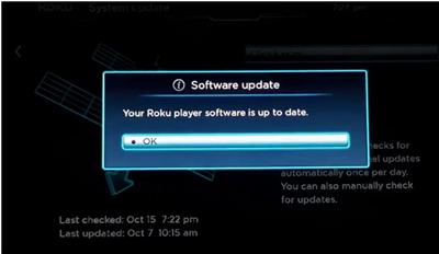 Softwer update