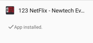 123netflix installed
