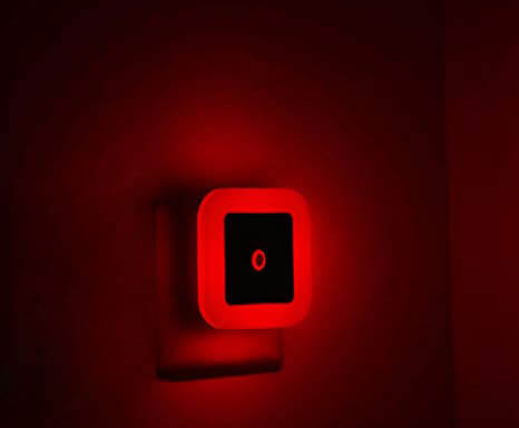 iavo Red Soft Glow Night Lamp