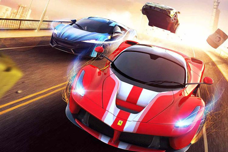 High-Speed Car Racing Game App