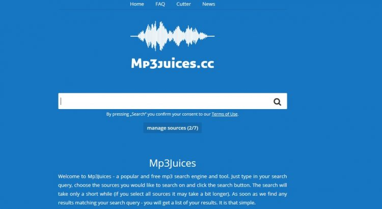 MP3Juice site like mp3boo