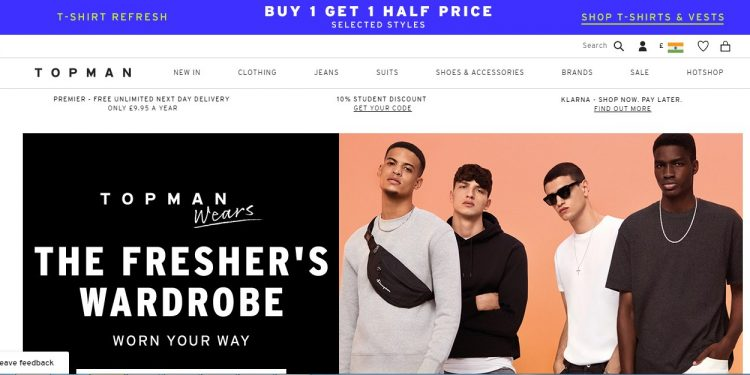 Topman site like jakethread